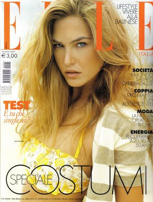 Bar Refaeli Elle Magazine by Victoria´s Secret Show