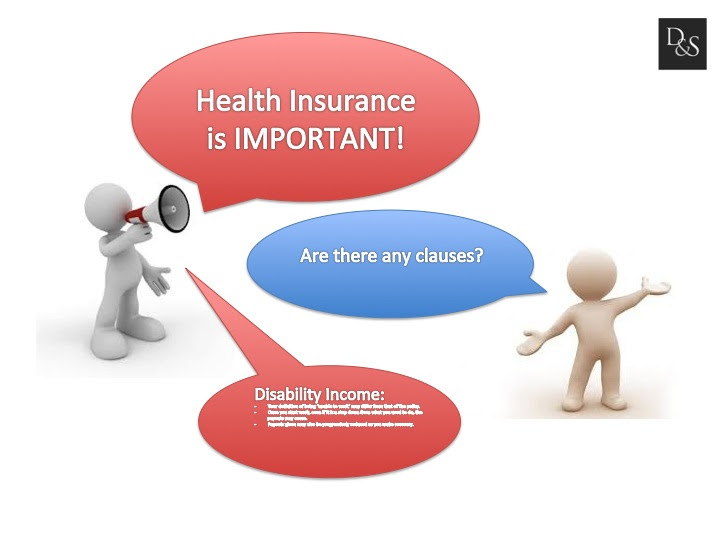 The fine prints of health insurance