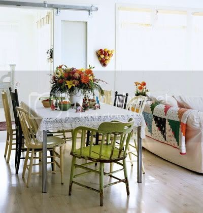 The Nesting Owl Mix And Match Dining Room Chairs