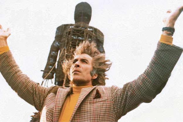 Still showing Sir Christopher Lee in The Wicker Man (1973)
