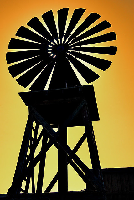 Knotts Windmill Silhouette Flickr