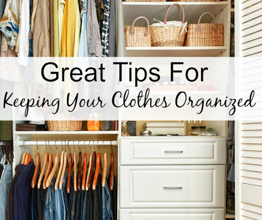 How To Keep Your Clothes Organized