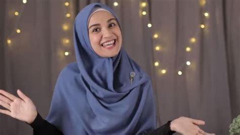 tutorial hijab segi empat menutup dada ala shireen sungkar
