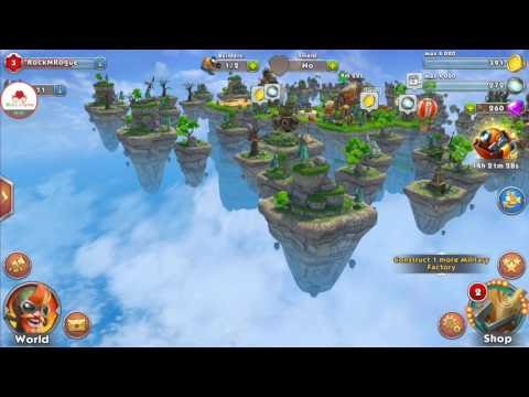 Sky Clash Android Oyunu / Strateji