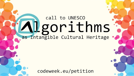 Algorithms as Intangible Cultural Heritage