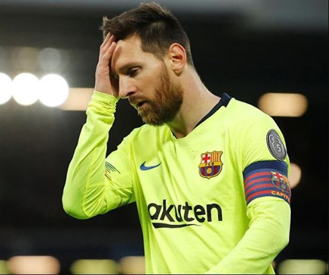 Lionel Messi Gets Two-Match Ban For Red Card