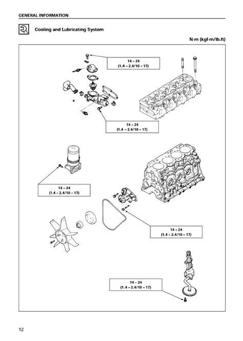 Isuzu Industrial Diesel Engine A-4JG1 Model Workshop