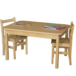 Wood Designs 3044HPL24 Rectangle High Pressure Laminate Table With Hardwood Legs- 24 In.