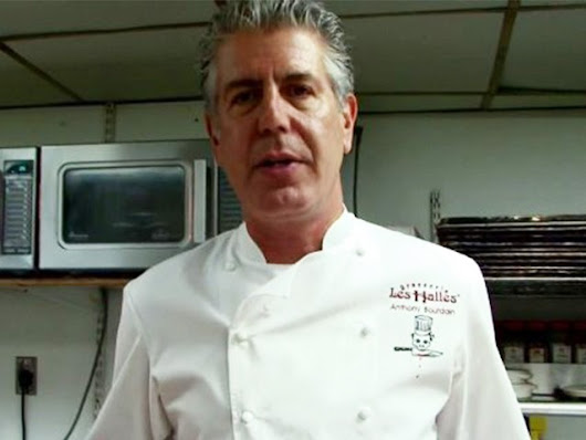 CNN Celeb Chef Anthony Bourdain Says He Would Poison Trump's Food