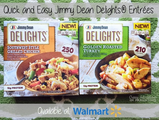 Easy Dinner Solutions with Jimmy Dean® Frozen Entrees (& $50GC Giveaway!) #ShineAnytime | Crazy Adventures in Parenting