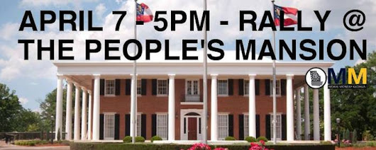 Rally at the People's Mansion - It's Time for a New Deal!