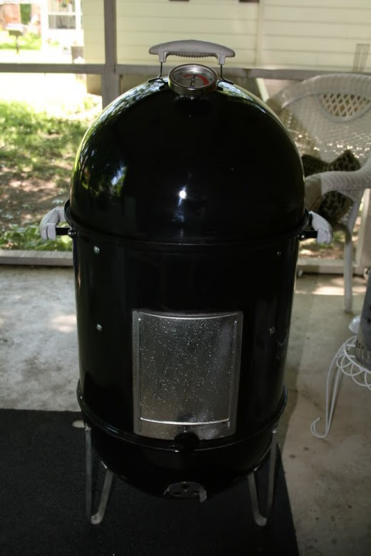 Wonder why its called a bullet smoker?