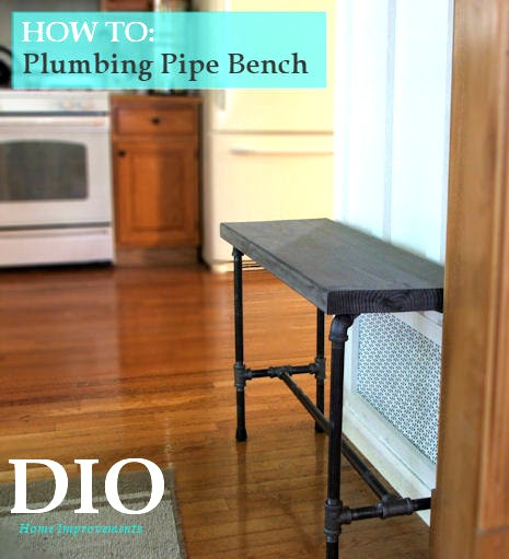 plumbers pipe bench