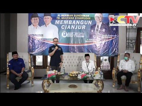 PAN Resmi Dukung Herman - TB. Mulyana