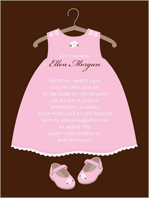 twinkle toes custom baby shower invitations shutterfly