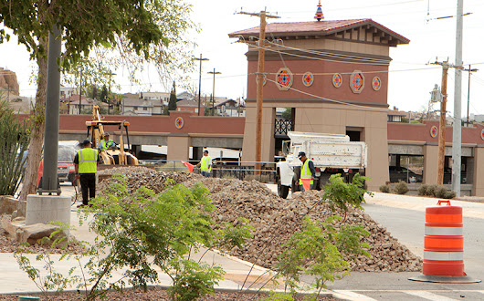Crews Focus on Making Campus Ready for Fall Semester  | UTEP News