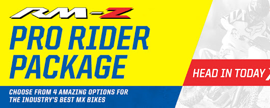 Suzuki - RM-Z Pro Rider Package Tracy Motorsports Tracy, CA (209) 832-3400