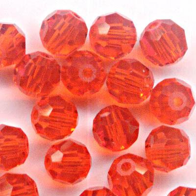 27750001231236 Swarovski Bead - 4 mm Faceted Round (5000) - Hyacinth (Pkg 18)
