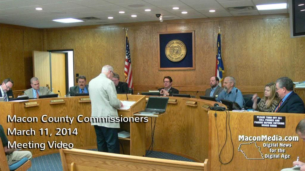 Macon county Commissioner March 11th Meeting