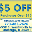 Special Offers & Discounts at Frank's Auto Glass Chicago, IL