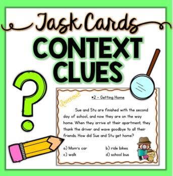 Reading Comprehension Task Cards ~ Daily Dose ~ Bundle
