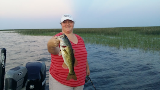 Lake Okeechobee with Ted and Cynthia of North Carolina