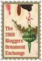 blogger ornament exchange