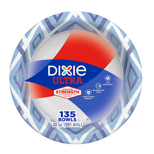 Dixie Ultra 20 oz Paper Bowl, 135-count