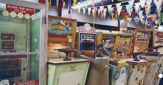 What arcades looked like before video games