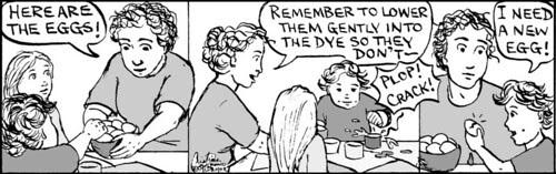 Home Spun comic strip #340