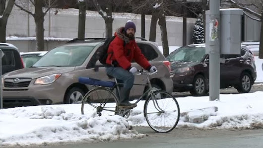 Winter cycling becoming more popular