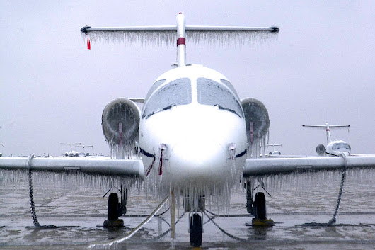 How To Get Perfectly Clear Ice On Your Airplane