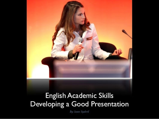Academic English Skills: Speaking and Presentation Skills