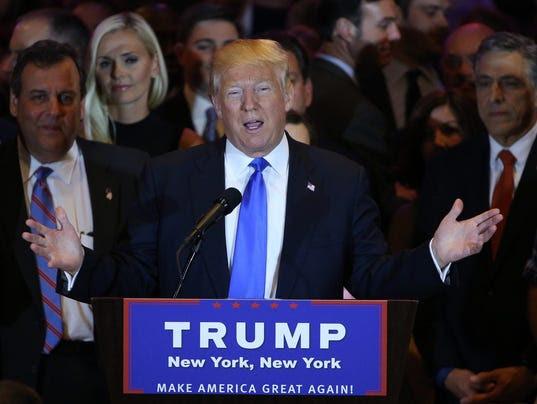 EPA USA ELECTIONS NEW YORK TRUMP POL ELECTIONS USA NY