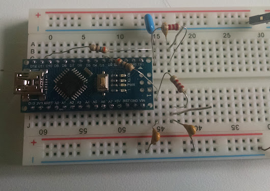 Arduino I/Q Audio Frequency DDS