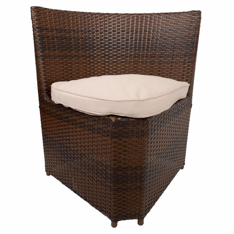 Napoli Rattan Wicker Dining Garden Furniture Set With ...