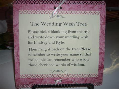 Wedding Money Tree Wording   Ginas Gift Blog » Blog