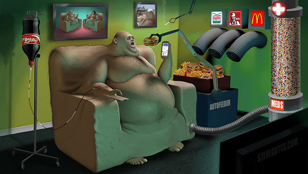 AD-Satirical-Illustrations-Show-Our-Addiction-To-Technology-42
