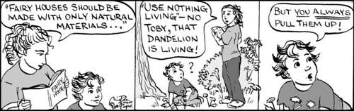 Home Spun comic strip #254