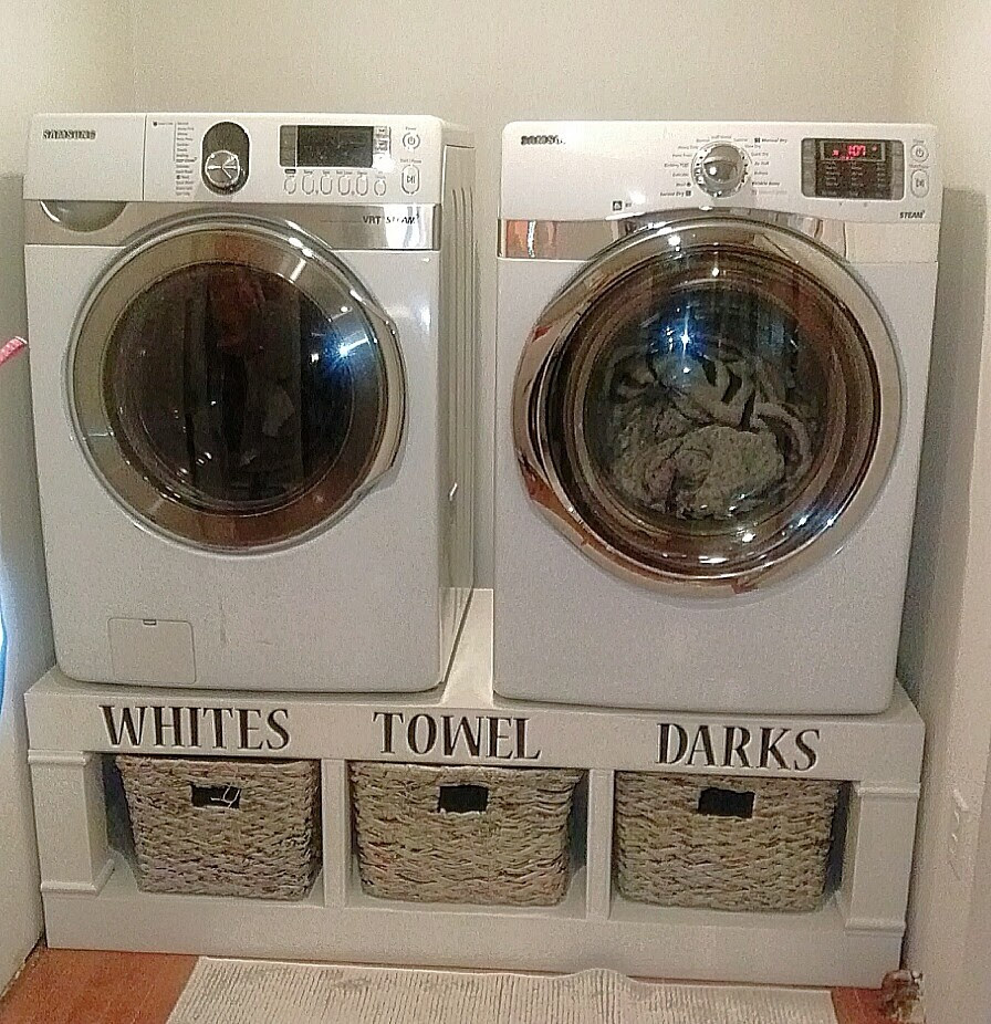 Ana White Saushas Washerdryer Pedestals Diy Projects
