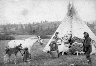 Some of Aloisia's Friends Among the Nez Perce