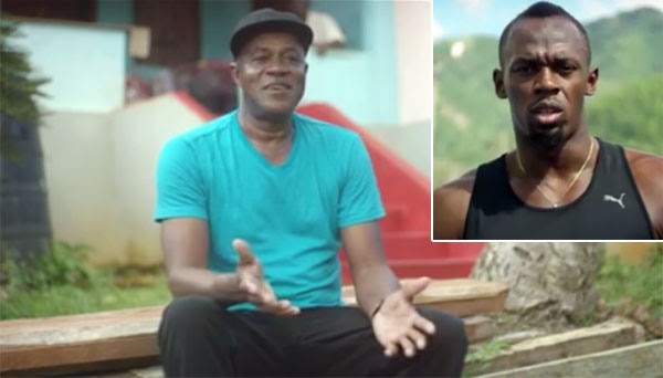 Video Usain Bolt And His Dad Share Childhood Memories In New Series