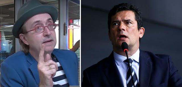Reinaldo detona Moro e diz que a percepção de corrupção aumenta porque ele não combate a milícia, o caso Queiroz e o laranjal
