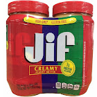 Jif Creamy Peanut Butter - 2 jars, 48 oz each