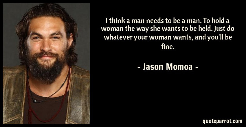 Woman Jason Momoa Quote Kingdom Come Discipleship