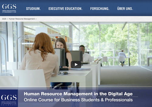 Supporting future HR with education for a digital world