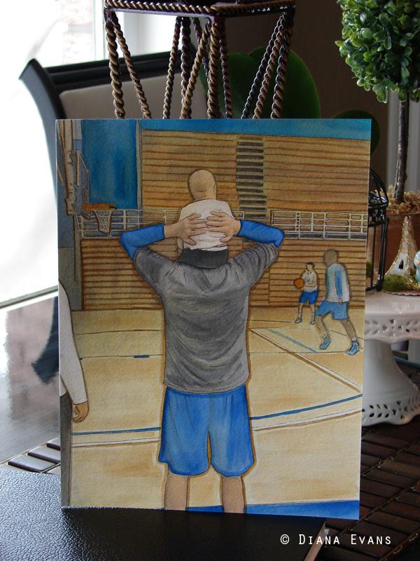 Basketball custom piece 2