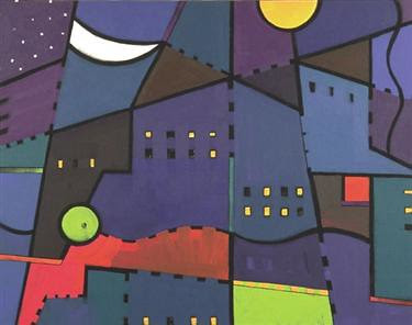 City Nights City Lights - Patt Dalbey