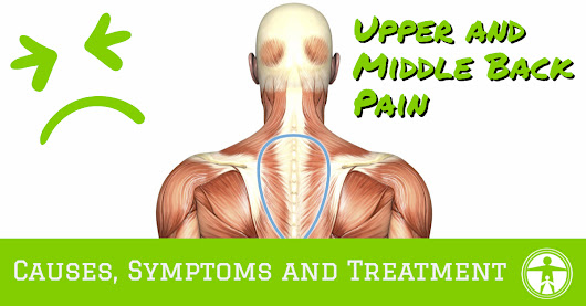 Upper and Middle Back Pain - Symptoms, Causes & Treatment