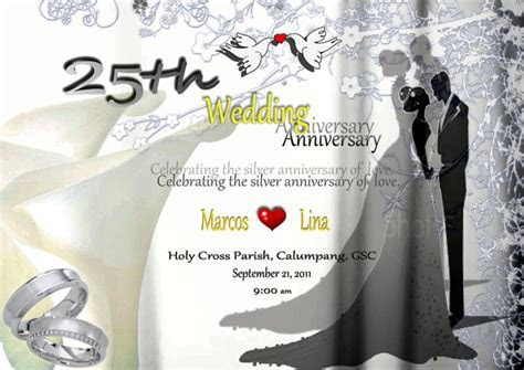 Wedding Anniversary TARPAULIN DESIGN   gracielanne